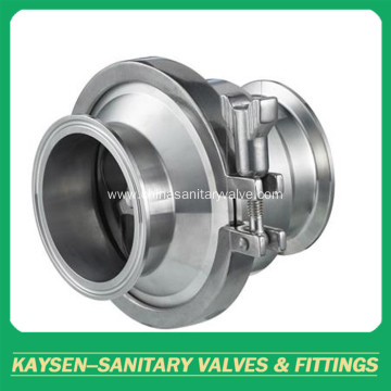 DIN Sanitary check valve Clamp End
